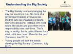 understanding the big society