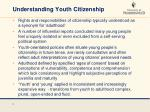 understanding youth citizenship