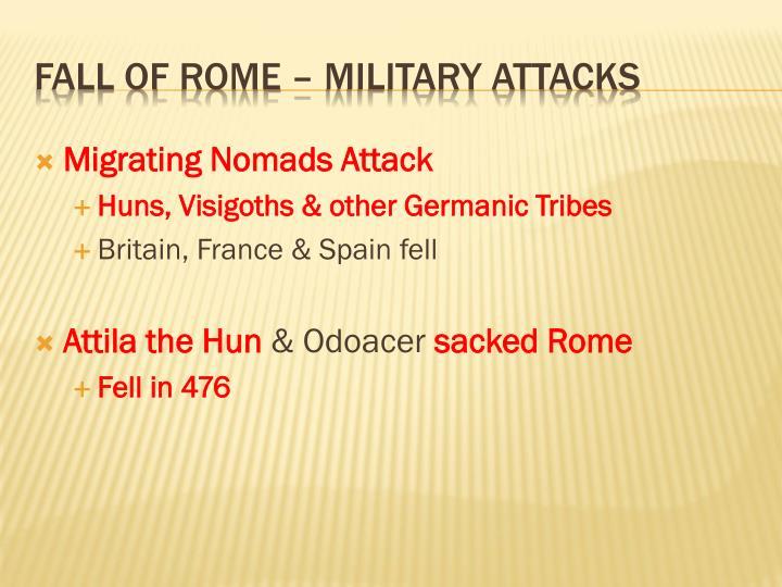 Migrating Nomads Attack