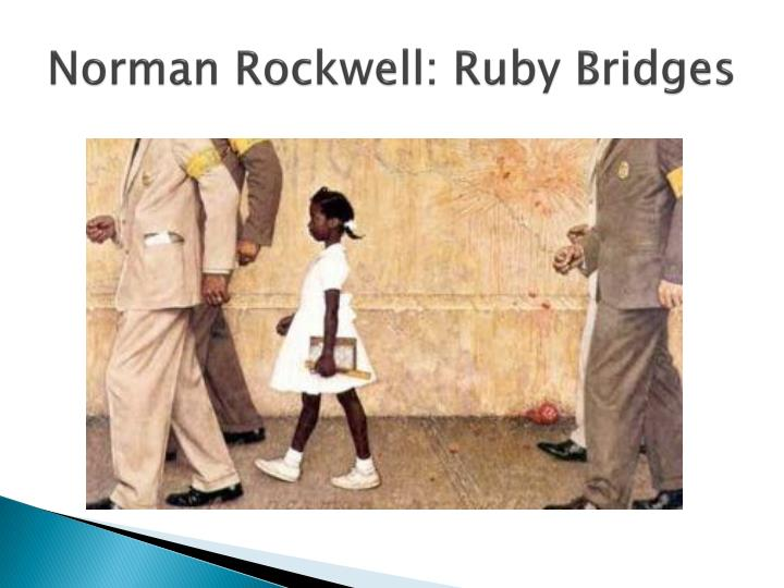 Norman rockwell ruby bridges