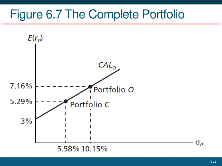 Figure 6.7 The Complete Portfolio