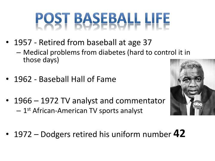 Post Baseball Life