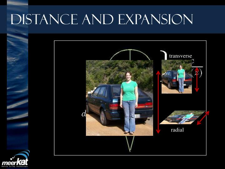 Distance and Expansion