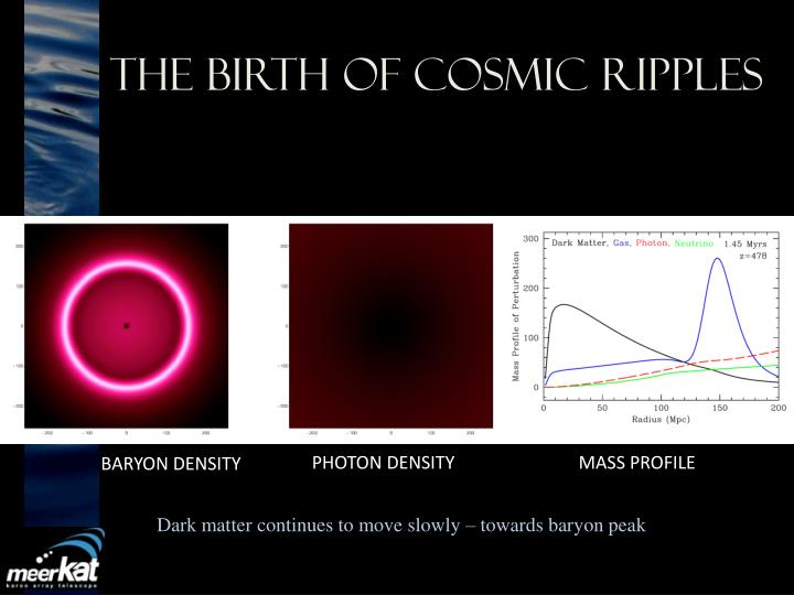 The Birth of Cosmic Ripples