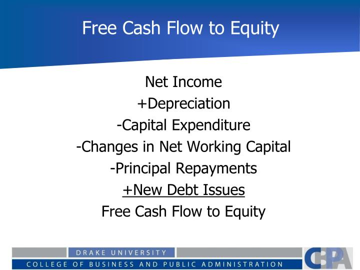 Free Cash Flow to Equity