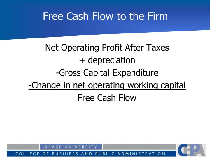 Free Cash Flow to the Firm