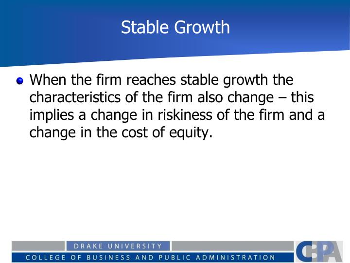 Stable Growth