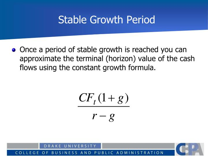 Stable Growth Period