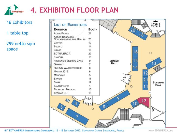 4. EXHIBITON FLOOR PLAN