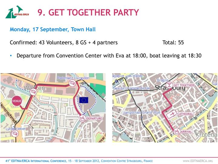 9. GET TOGETHER PARTY