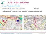 9 get together party