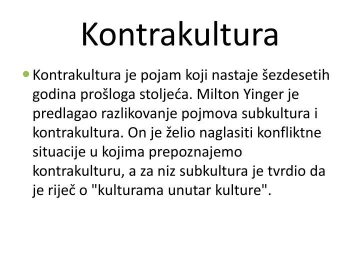 Kontrakultura