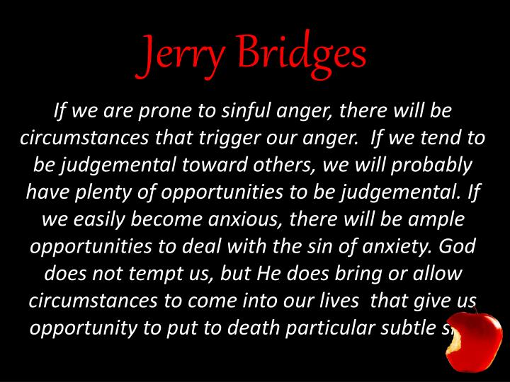 Jerry Bridges