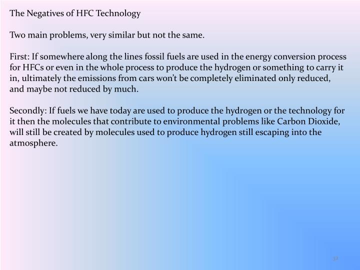 The Negatives of HFC Technology
