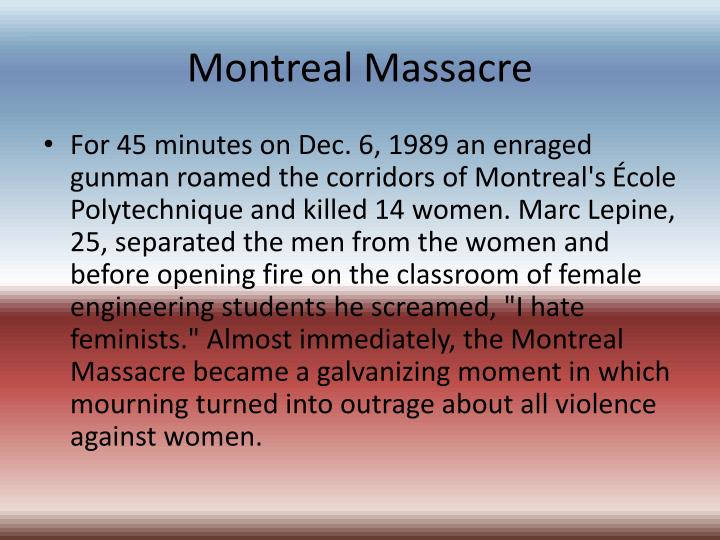 Montreal massacre