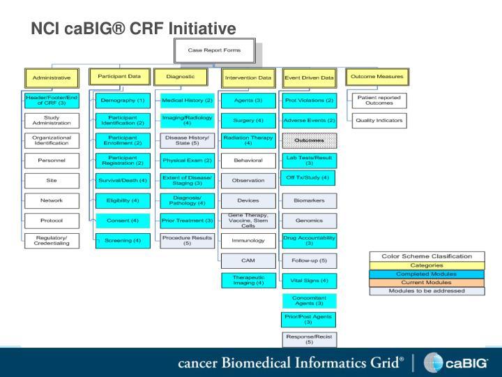 NCI caBIG® CRF Initiative