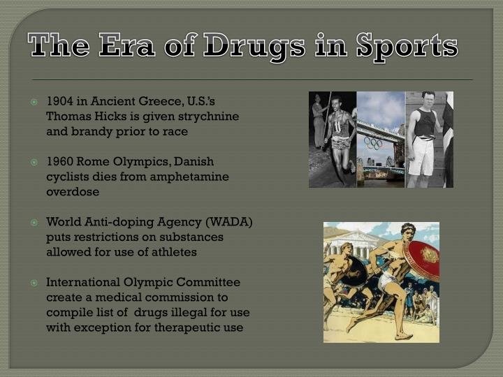 The Era of Drugs in Sports