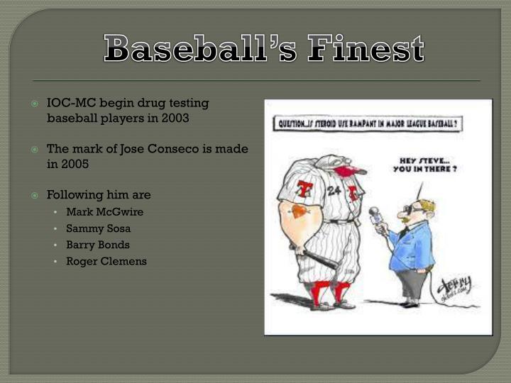 Baseball's Finest