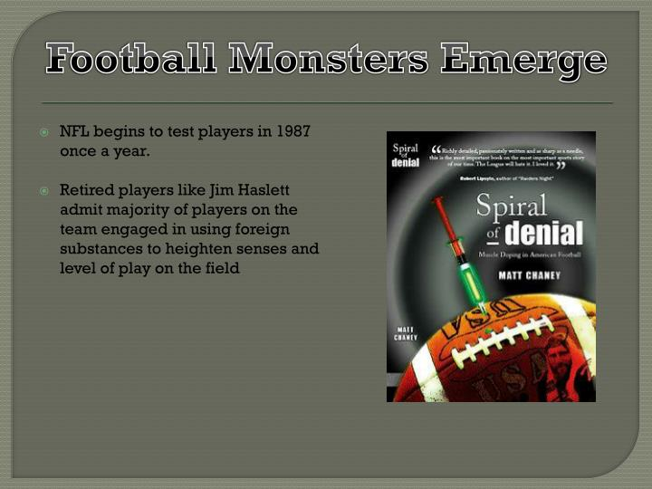 Football Monsters Emerge