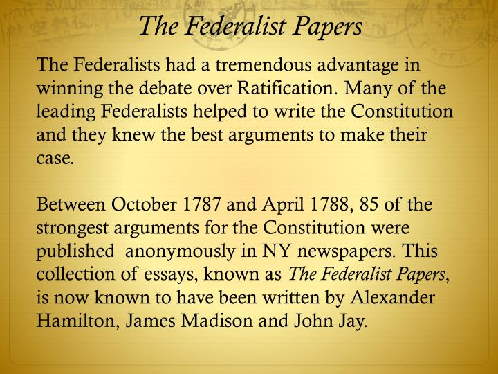top tips for writing in a hurry federalists essays anti federalists essays