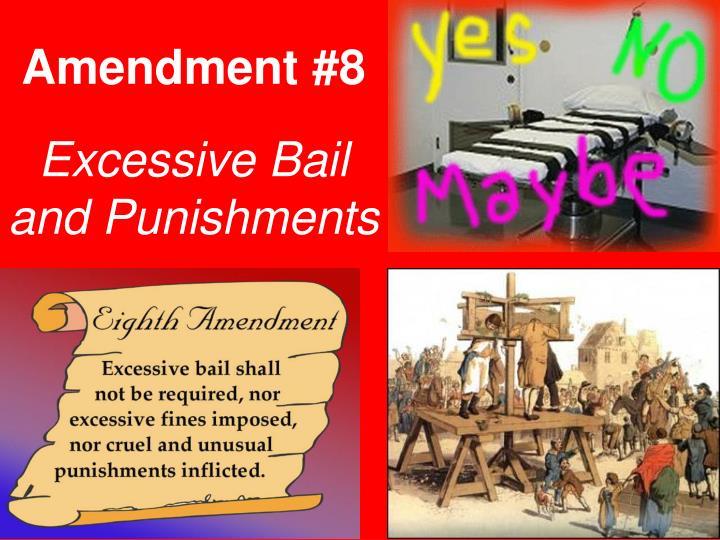 Amendment #8