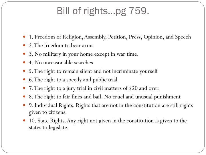Bill of