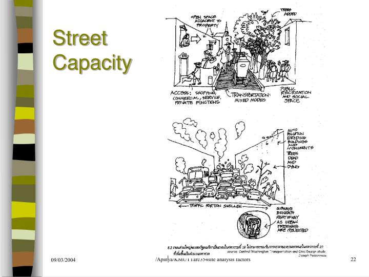 Street Capacity