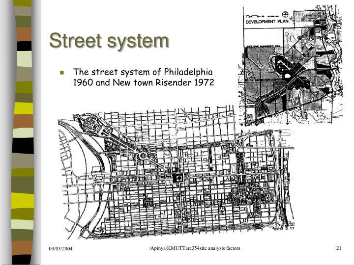 Street system