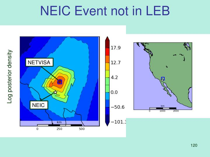 NEIC Event not in LEB