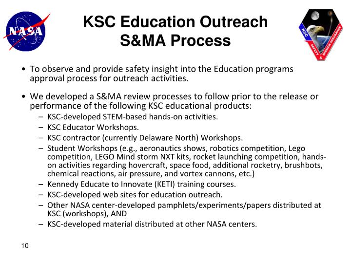 KSC Education Outreach