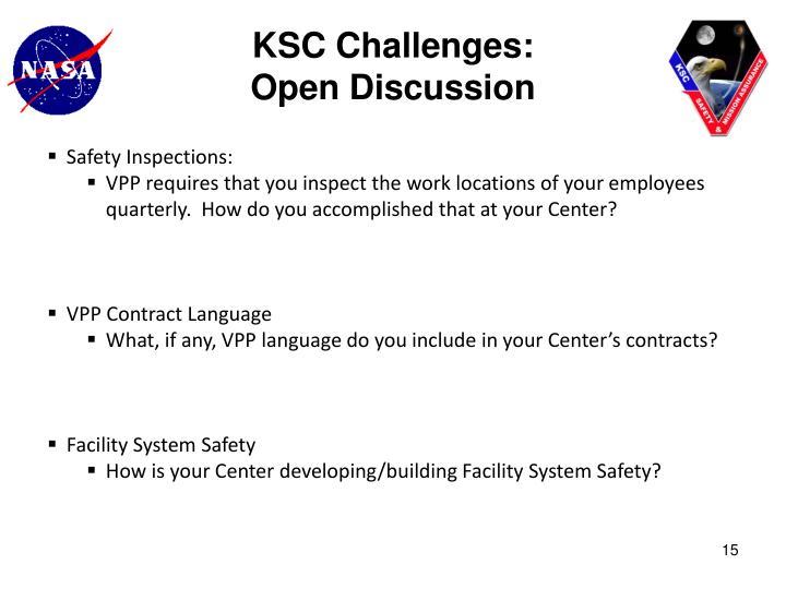 KSC Challenges: