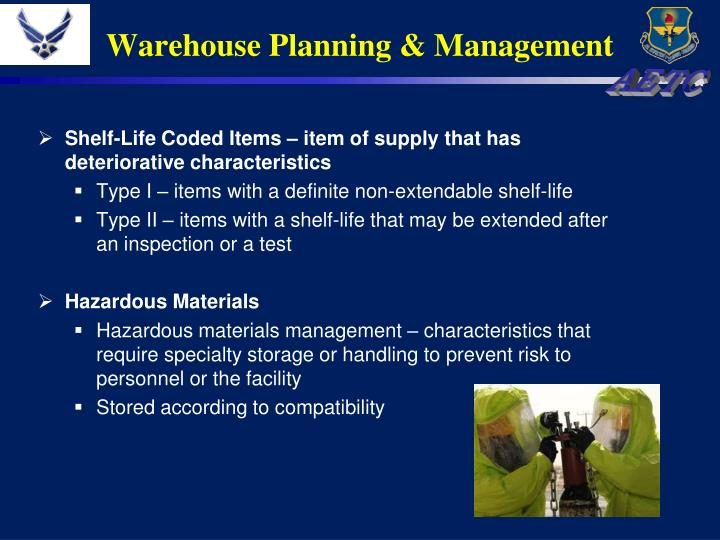 Warehouse Planning & Management