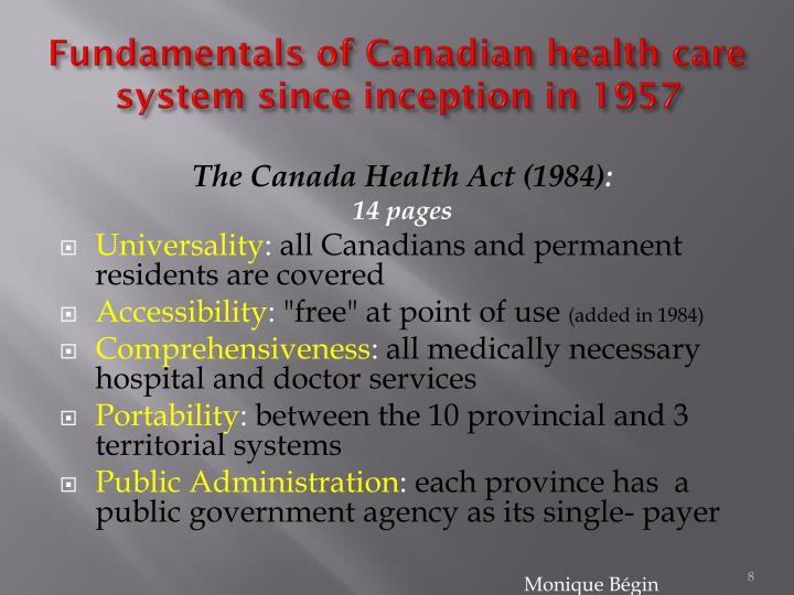 Fundamentals of Canadian