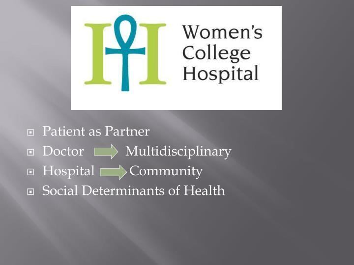 Patient as Partner