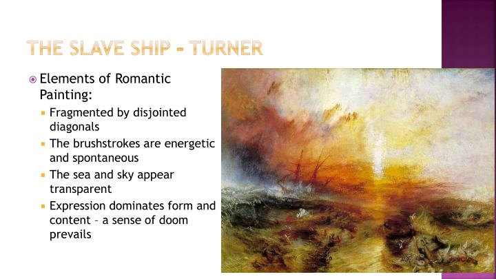 The Slave Ship - Turner