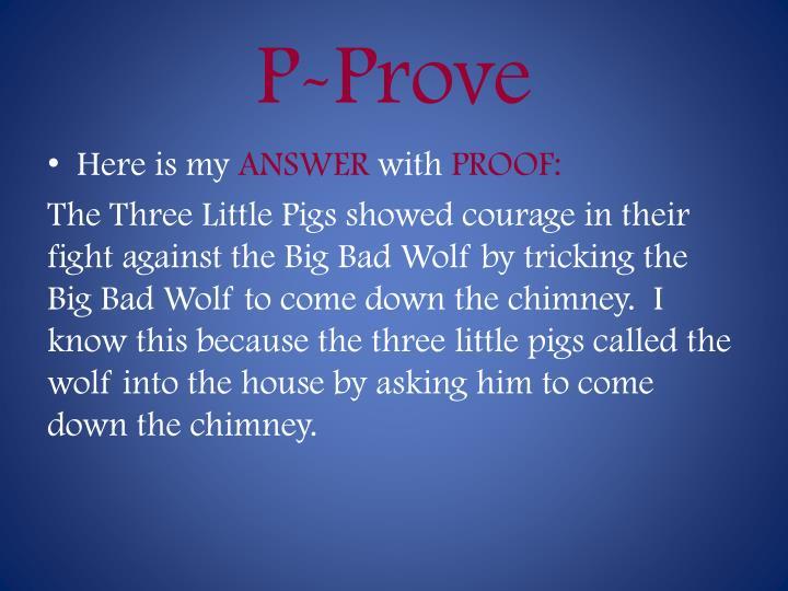 P-Prove