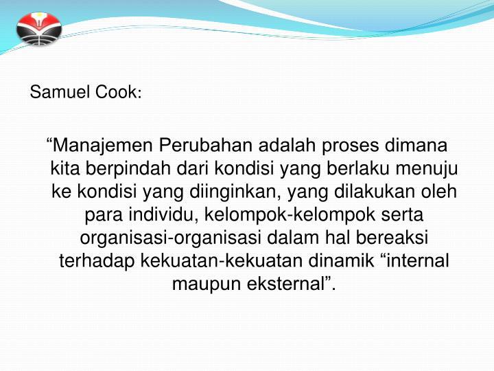 Samuel Cook