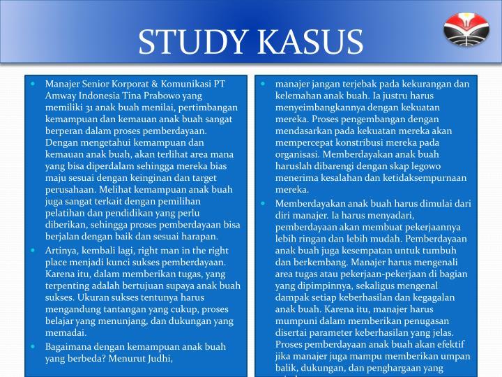 STUDY KASUS