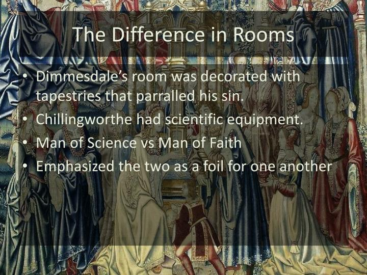 The Difference in Rooms