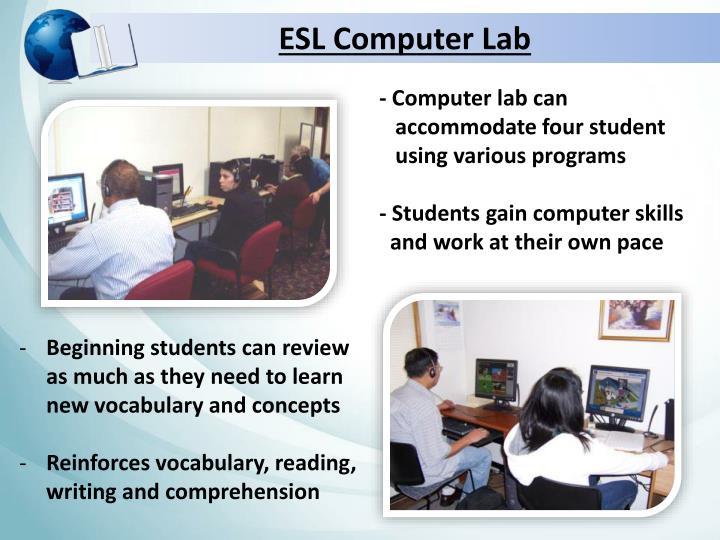 ESL Computer Lab