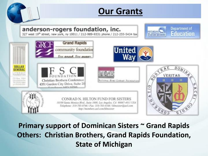 Our Grants