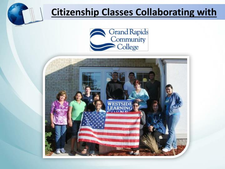 Citizenship Classes Collaborating with
