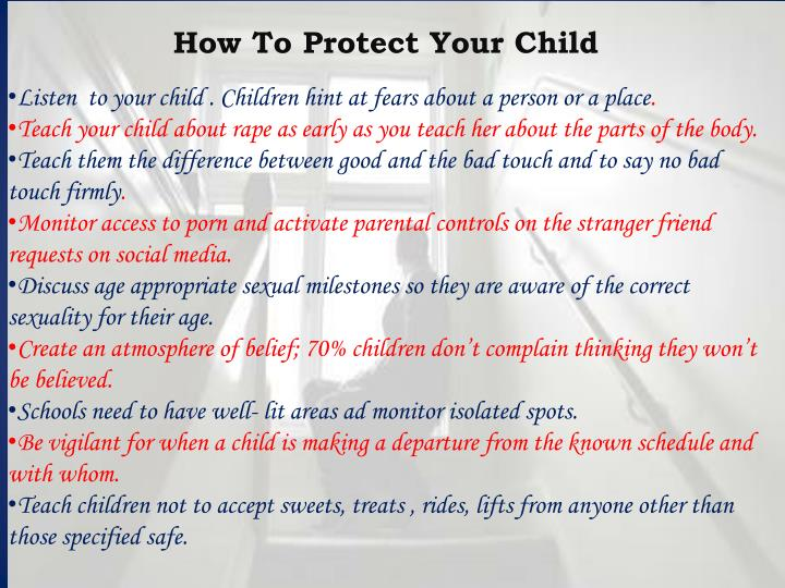 How To Protect Your Child