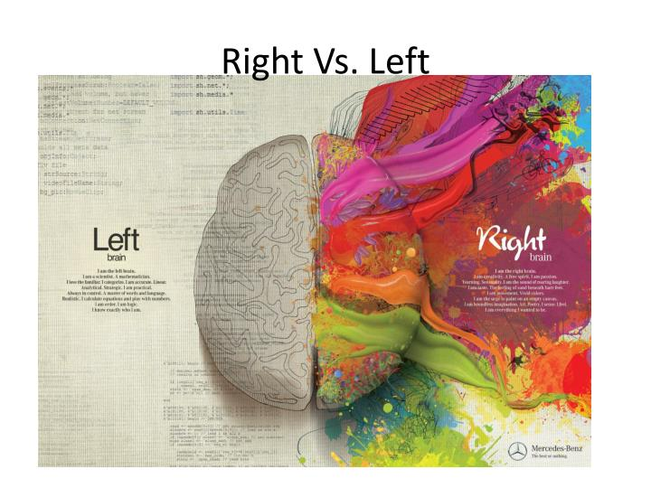 Right Vs. Left