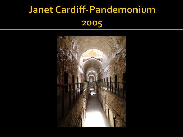 Janet Cardiff-