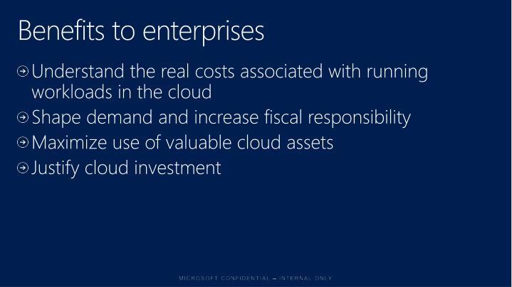 Benefits to enterprises