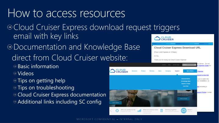 How to access resources
