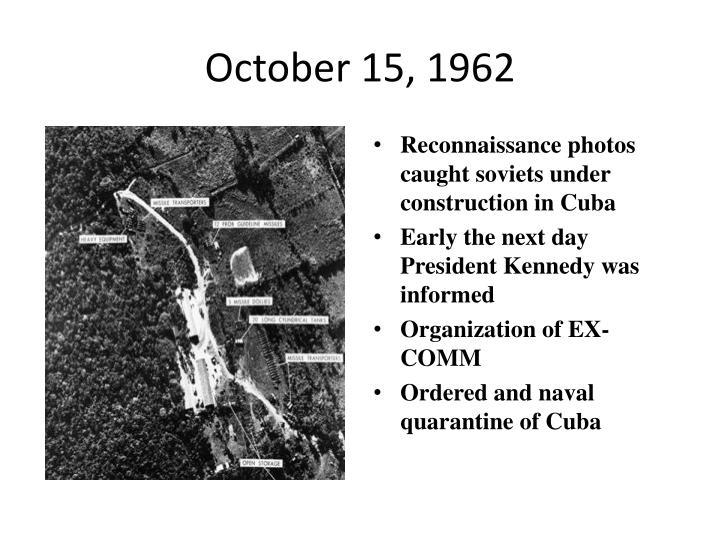 October 15, 1962