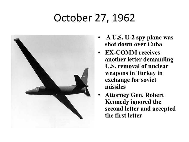 October 27, 1962