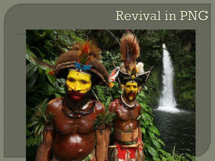 Revival in PNG